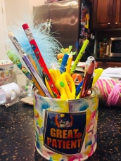 Make something, like a pencil holder!