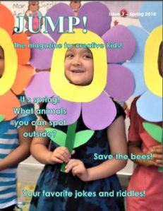 Spring issue of JUMP! magazine for kids