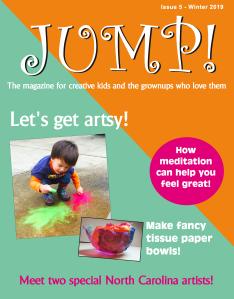 Winter 2019 Issue of JUMP! magazine