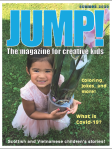 summer 2020 cover of JUMP! magazine for children